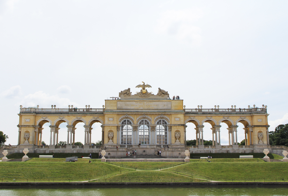 Gloriette at Schönbrunn Palace, Vienna, Austria — via Cotton Cashmere Cat Hair
