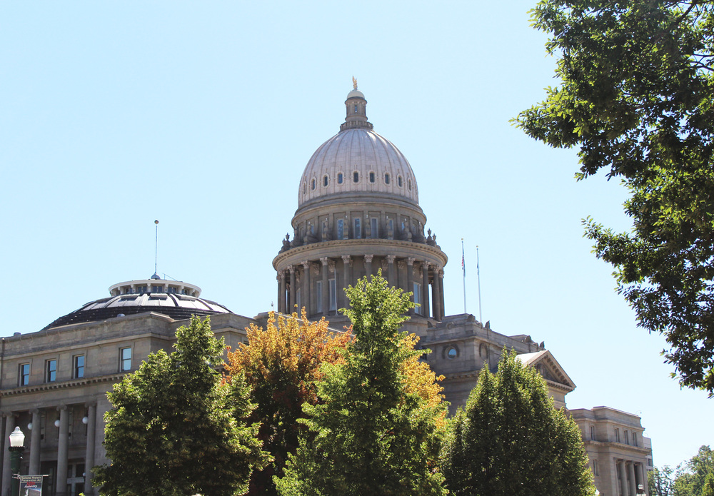 Capitol building in Boise, Idaho — via Cotton Cashmere Cat Hair