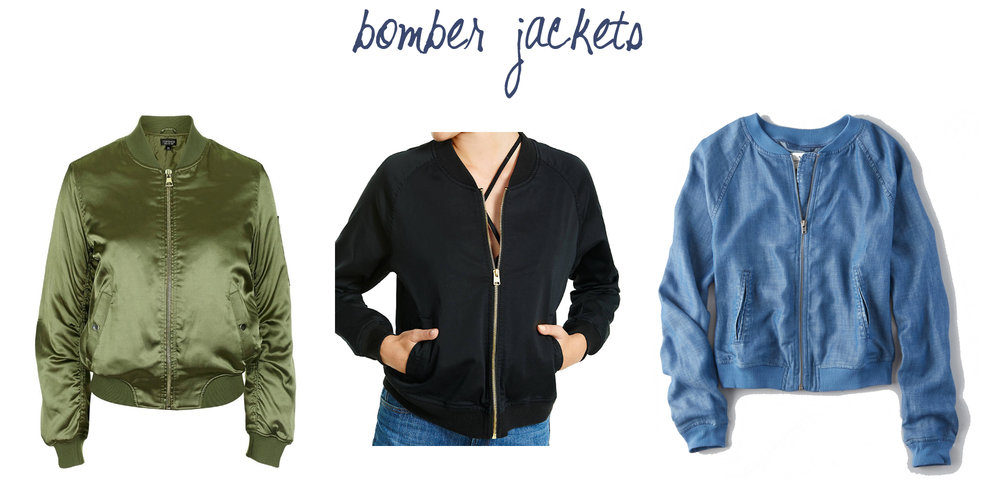 Trend to try: Bomber jackets — via Cotton Cashmere Cat Hair