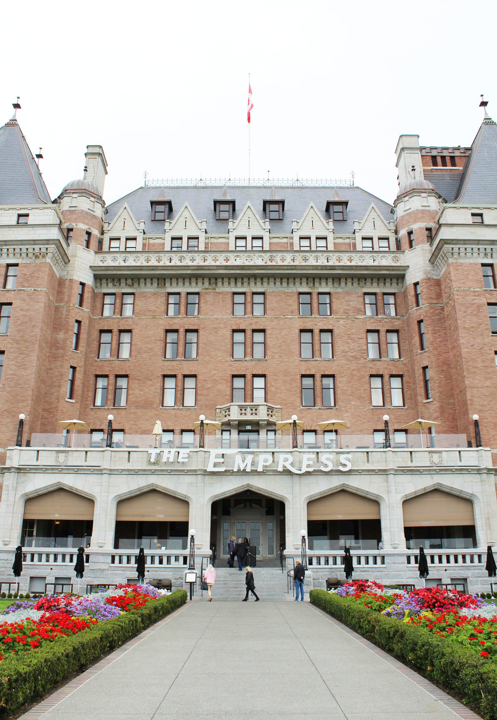 The Fairmont Empress, Victoria, British Columbia — via Cotton Cashmere Cat Hair