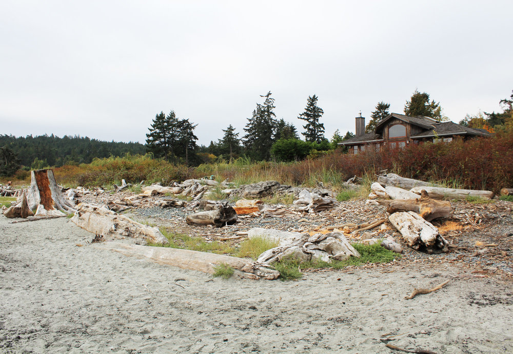 Beach house in Metchosin, British Columbia — via Cotton Cashmere Cat Hair