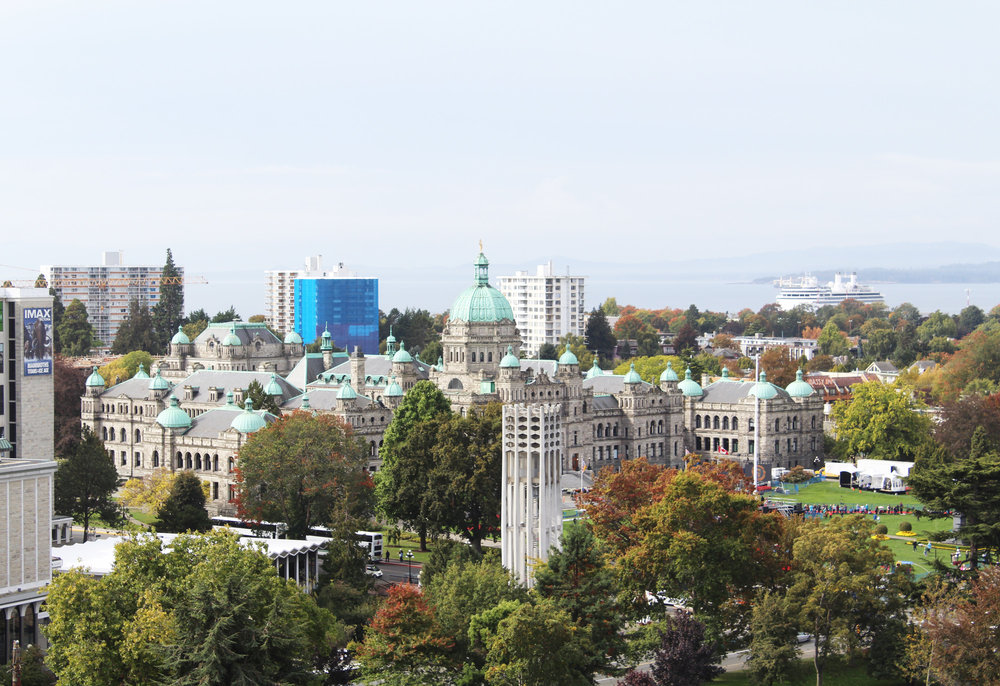 Downtown Victoria, British Columbia — via Cotton Cashmere Cat Hair