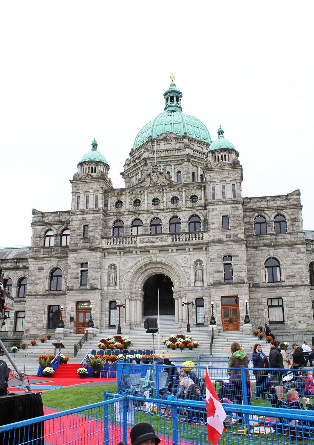 Legislative Building, Victoria, British Columbia — via Cotton Cashmere Cat Hair