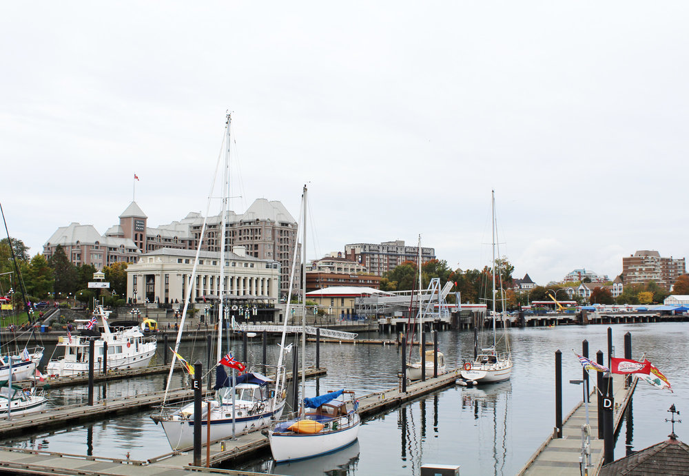 Victoria Harbour, British Columbia — via Cotton Cashmere Cat Hair