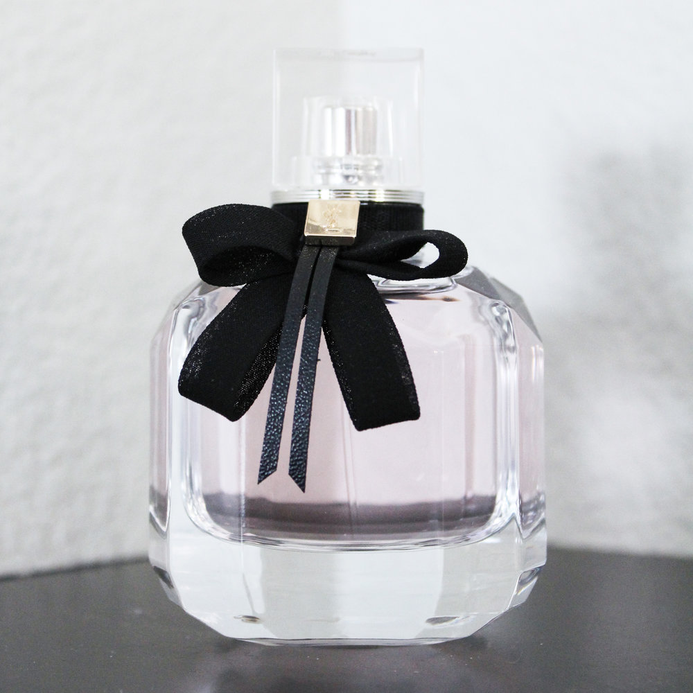 Yves Saint Laurent Mon Paris Eau de Parfum — via Cotton Cashmere Cat Hair