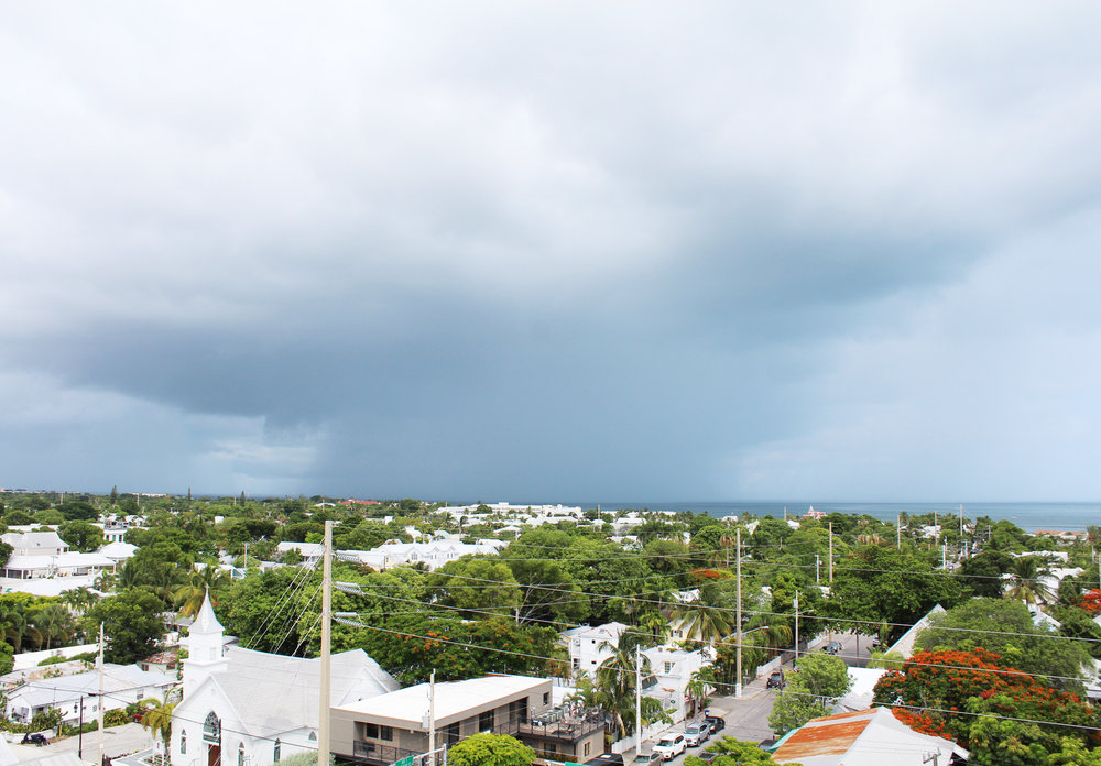 View to the southeast from the Key West Lighthouse — Cotton Cashmere Cat Hair