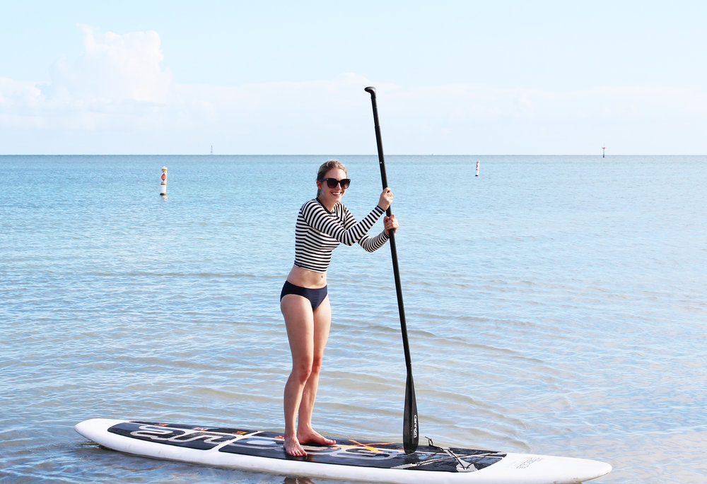 Paddle boarding in the Florida Keys — Cotton Cashmere Cat Hair