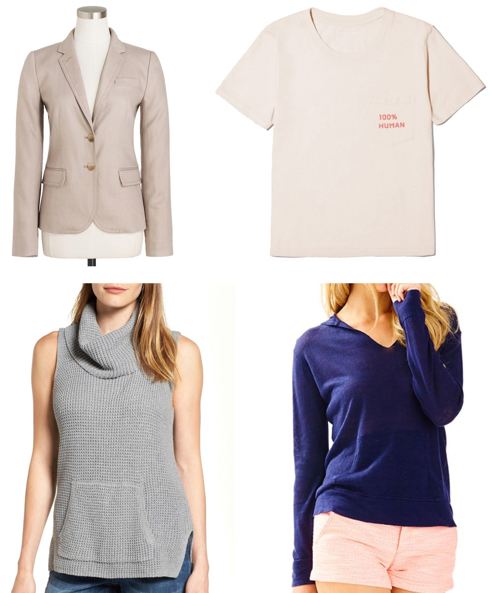 July 2017 wardrobe additions — Cotton Cashmere Cat Hair