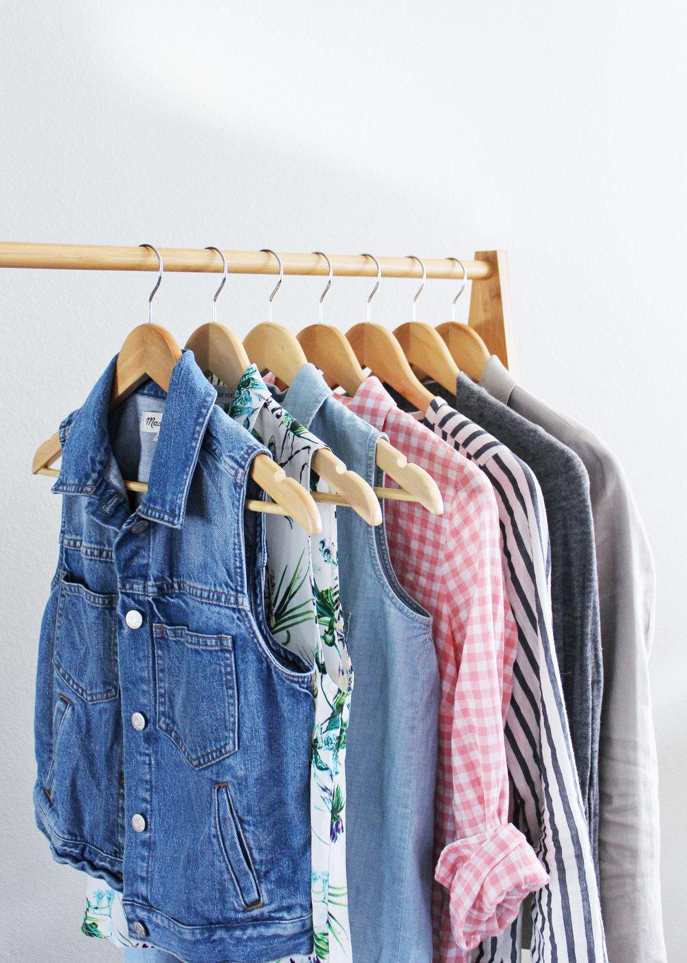 Summer 10x10 minimalist wardrobe challenge — Cotton Cashmere Cat Hair