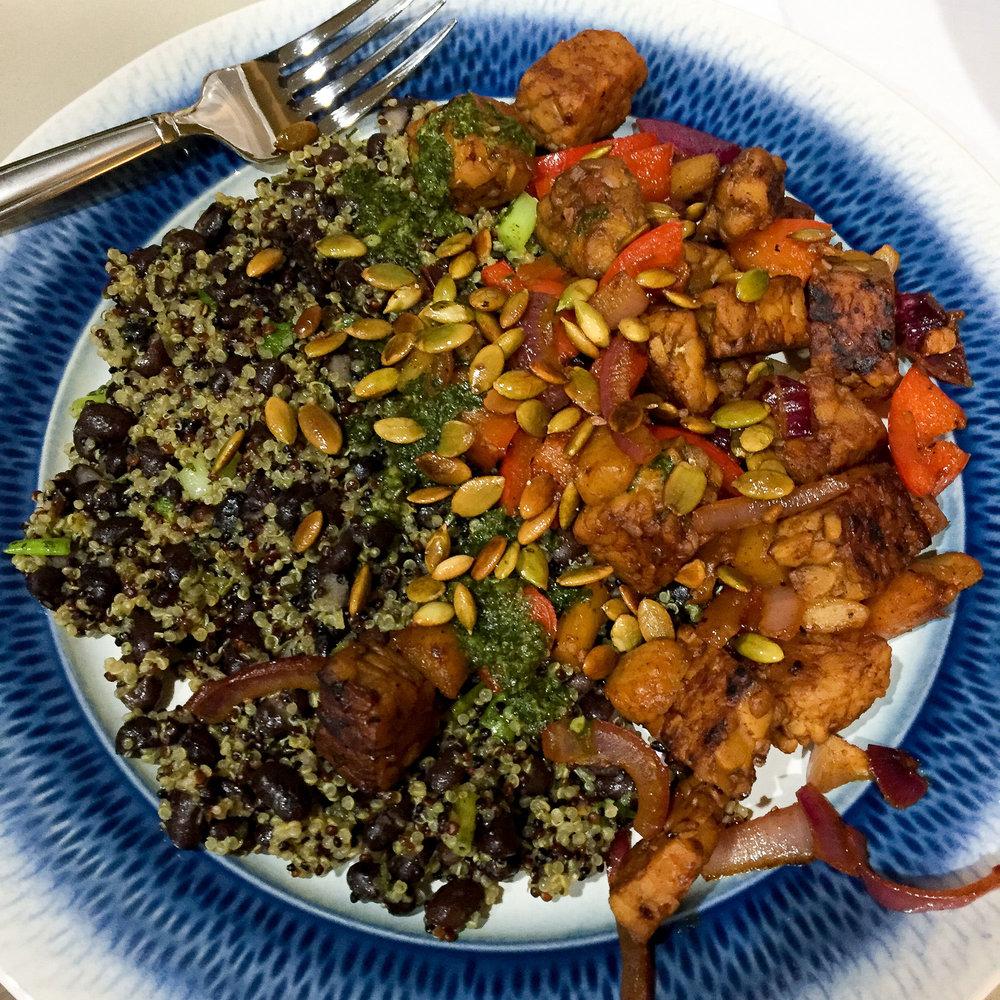 Green Chef Cuban fried quinoa