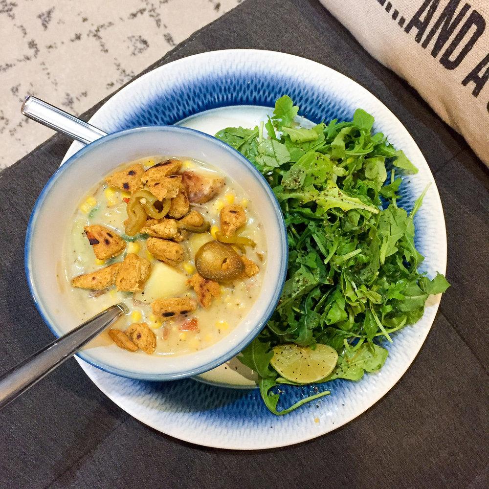 Green Chef southwest potato chowder