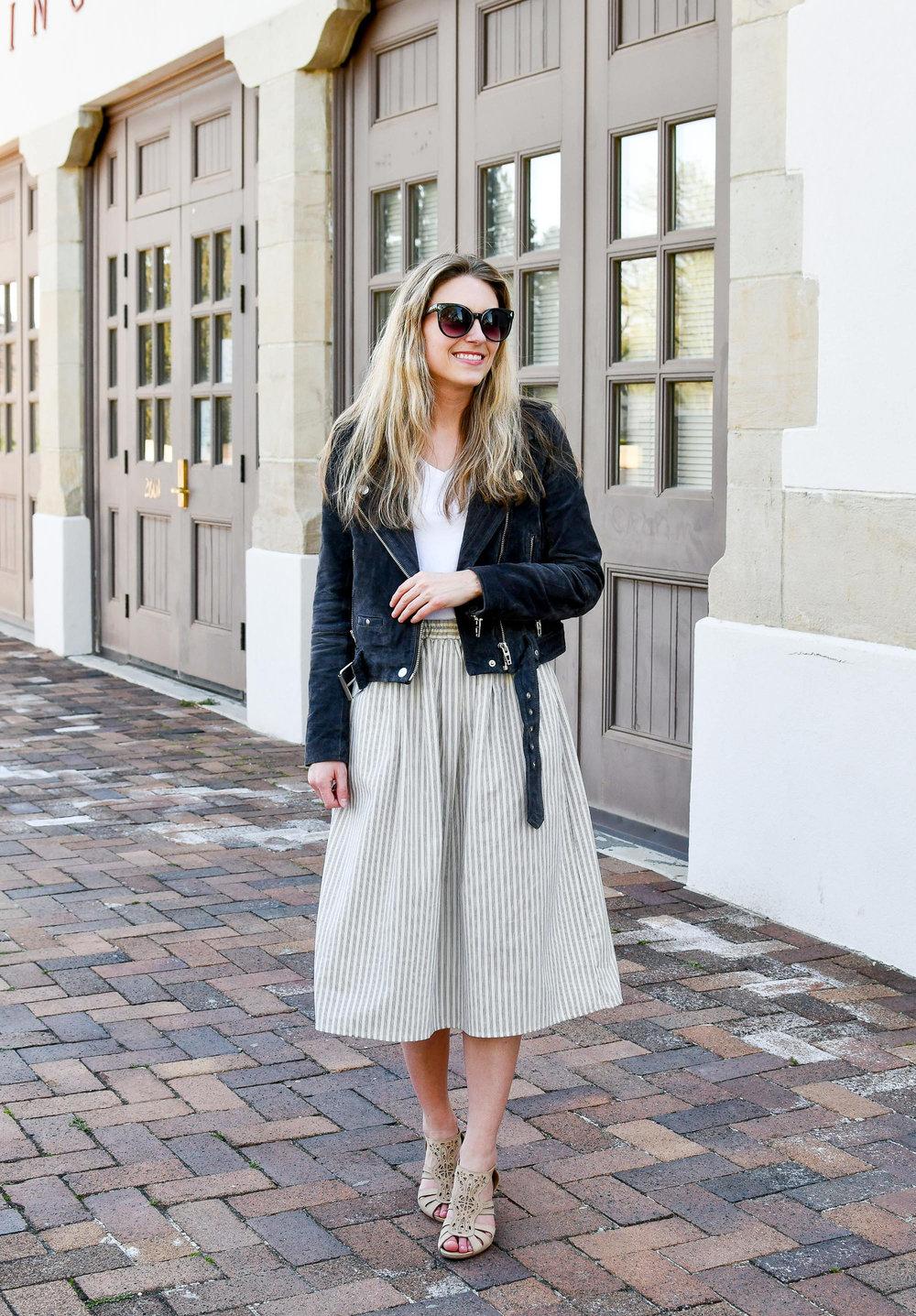 Amour Vert midi skirt — Cotton Cashmere Cat Hair