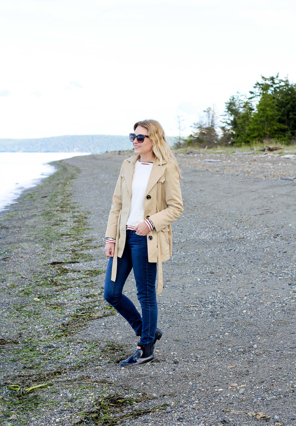 Spring outfit in the Pacific Northwest — Cotton Cashmere Cat Hair