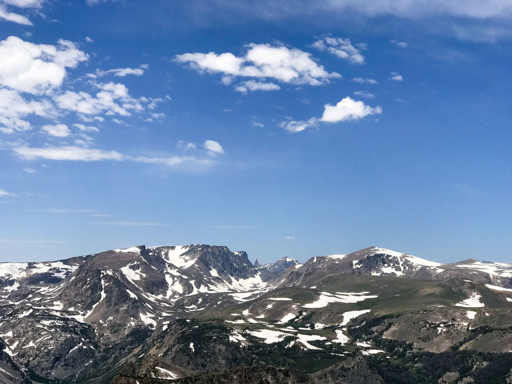 View along Beartooth Highway — via Cotton Cashmere Cat Hair