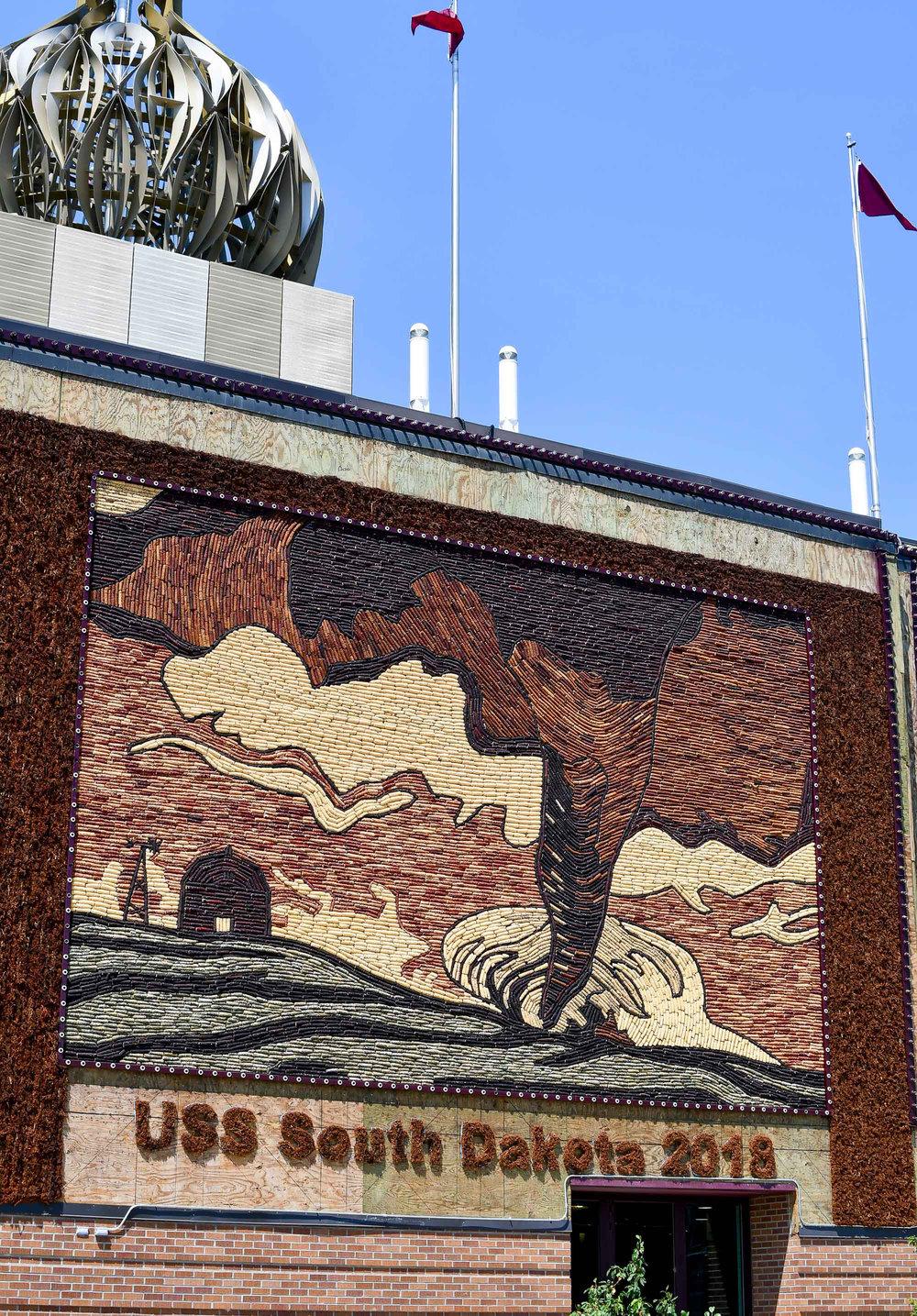 World's Only Corn Palace, Mitchell, South Dakota — via Cotton Cashmere Cat Hair