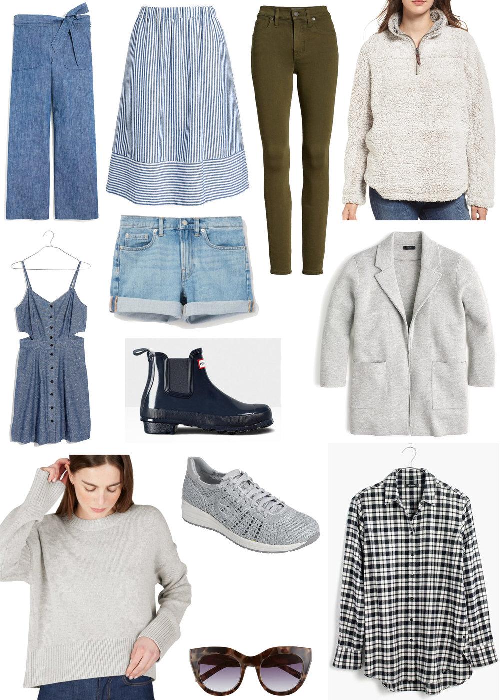 Summer 2018 wardrobe additions — Cotton Cashmere Cat Hair