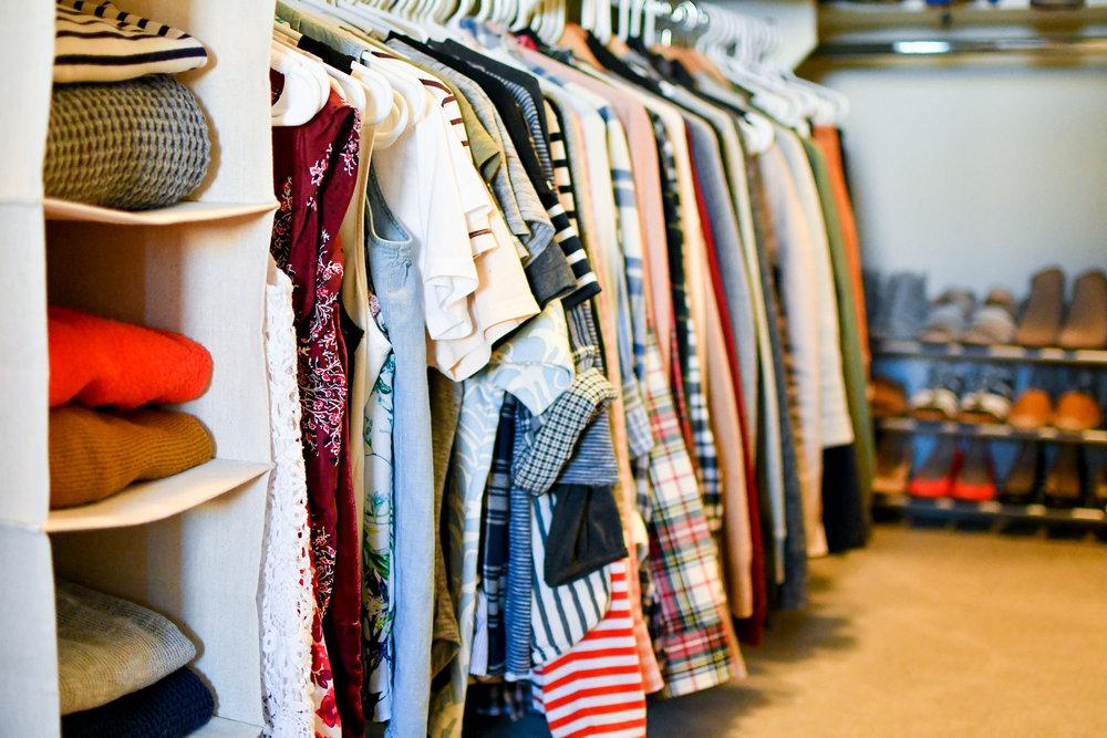 2018 closet inventory — Cotton Cashmere Cat Hair