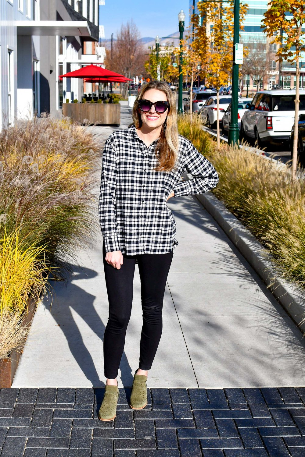 Fall work style with ponte pants — Cotton Cashmere Cat Hair