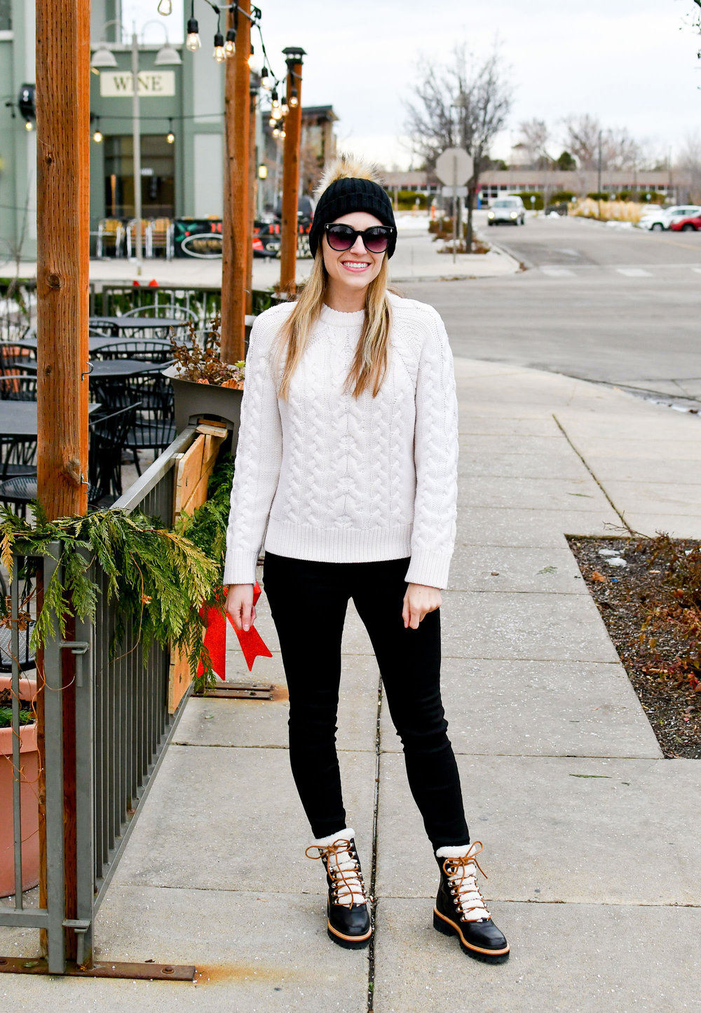 Favorite outfit: Cozy attire — Cotton Cashmere Cat Hair