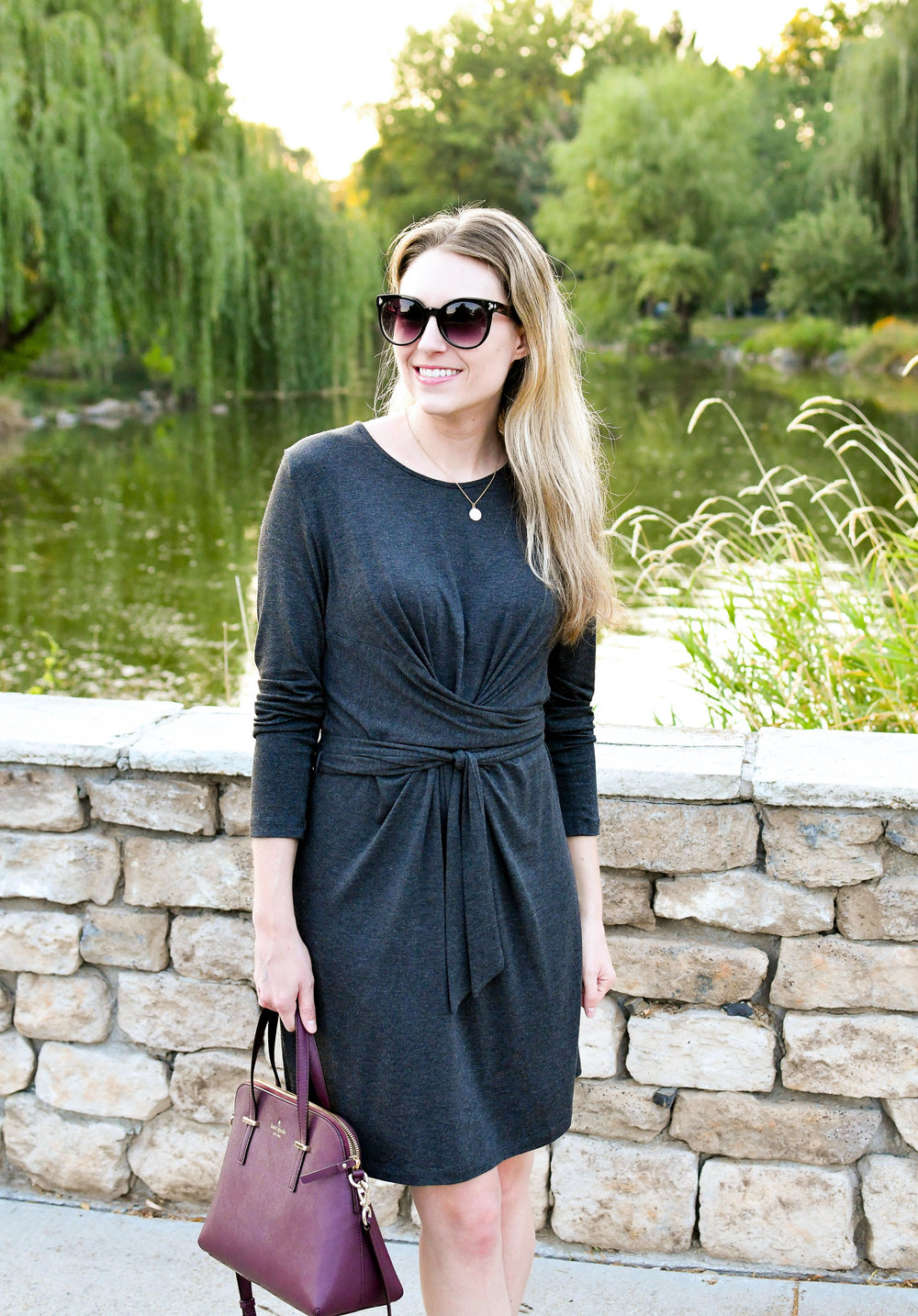 Best purchase: Amour Vert 'Kim' dress — Cotton Cashmere Cat Hair