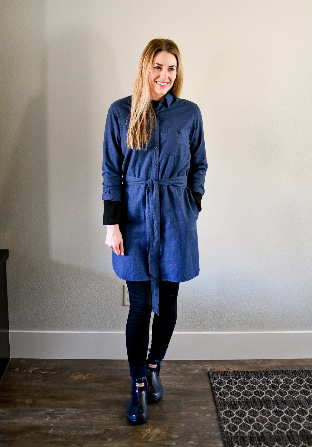 January Style Sudoku: Outfit 4 — Cotton Cashmere Cat Hair