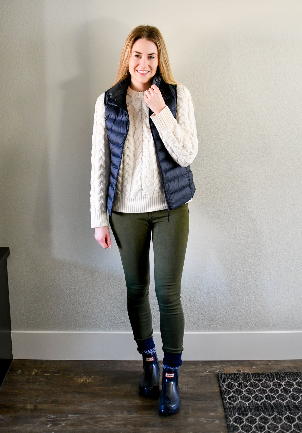 January Style Sudoku: row 4 outfit — Cotton Cashmere Cat Hair