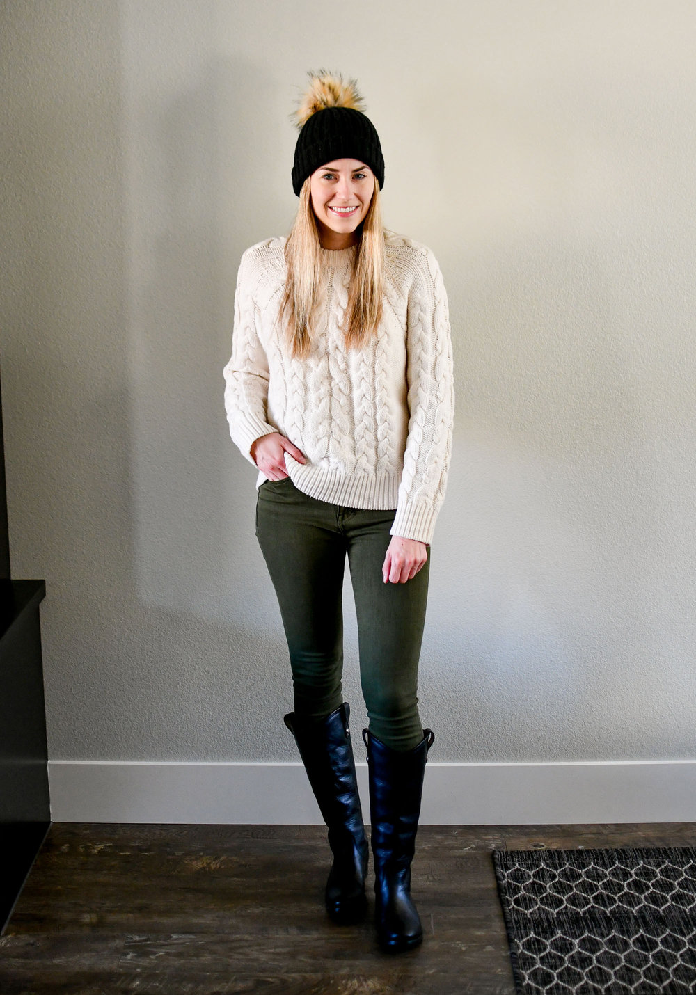 January Style Sudoku: corner 4 outfit — Cotton Cashmere Cat Hair