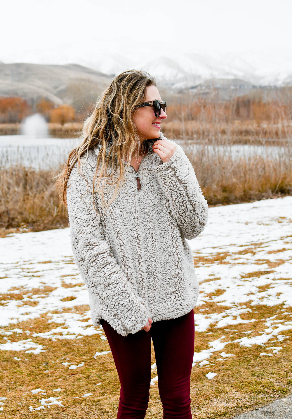 Thread and Supply wubby pullover via Nordstrom — Cotton Cashmere Cat Hair