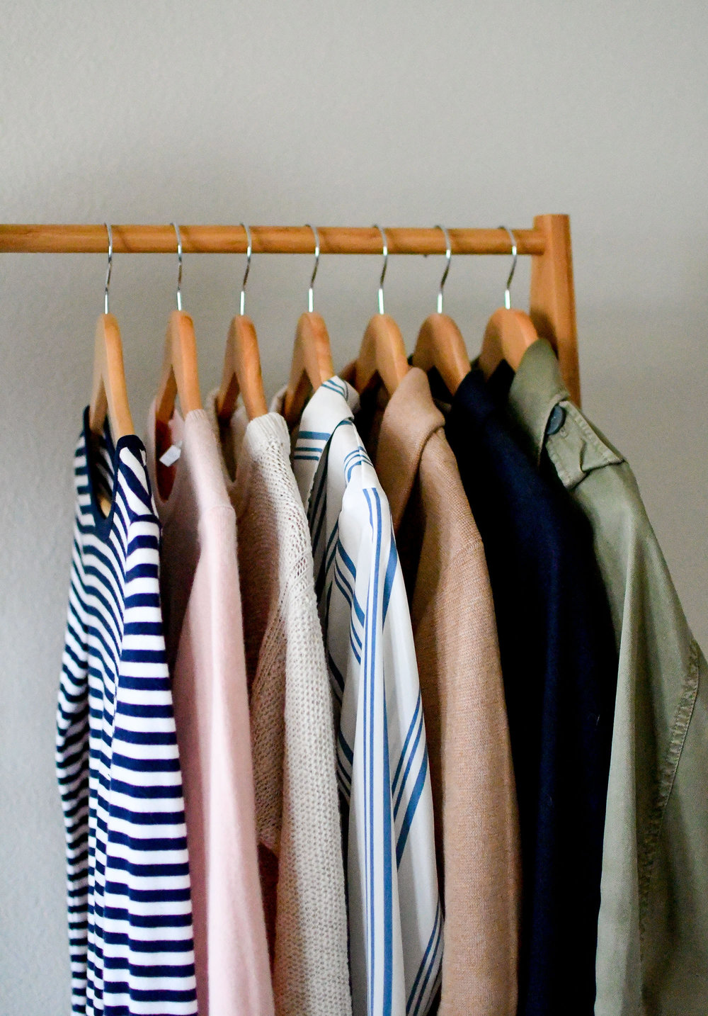 Striped shirts, light sweaters, blazers for spring — Cotton Cashmere Cat Hair