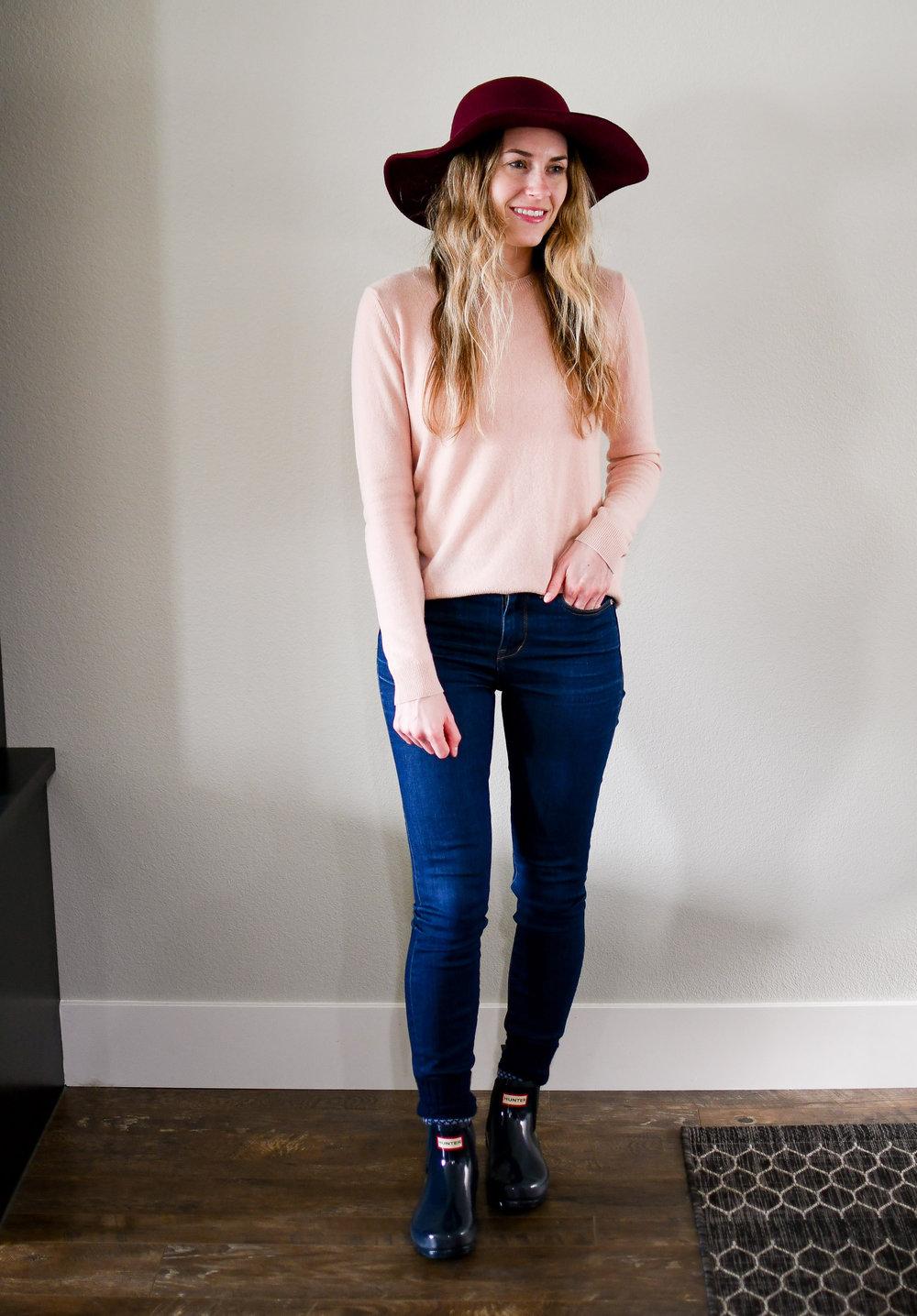 April Style Sudoku: Outfit 3 — Cotton Cashmere Cat Hair