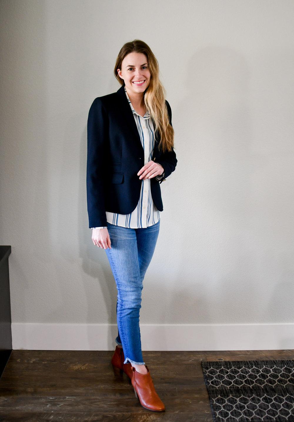 April Style Sudoku: Outfit 5 — Cotton Cashmere Cat Hair