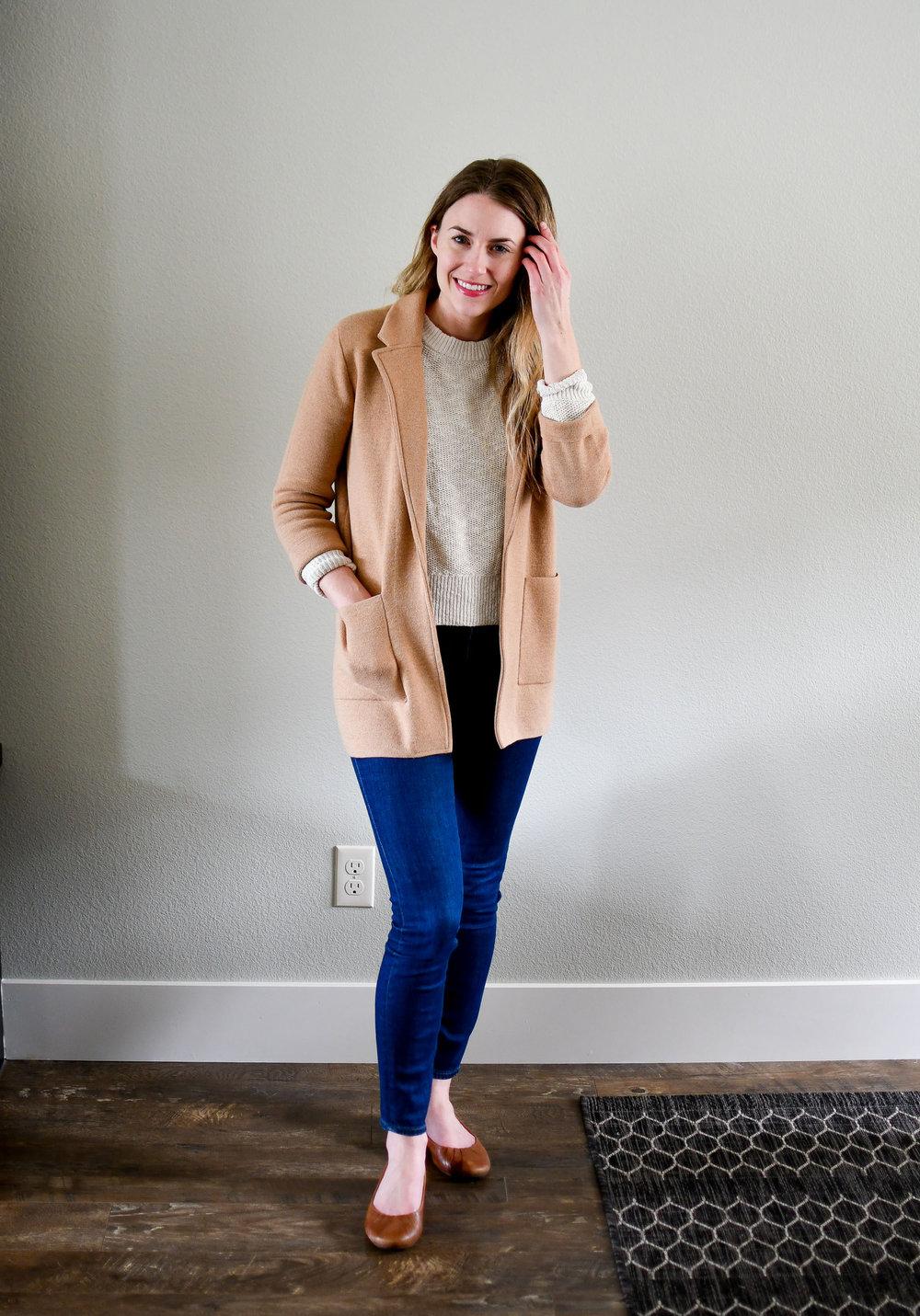 April Style Sudoku: Outfit 8 — Cotton Cashmere Cat Hair