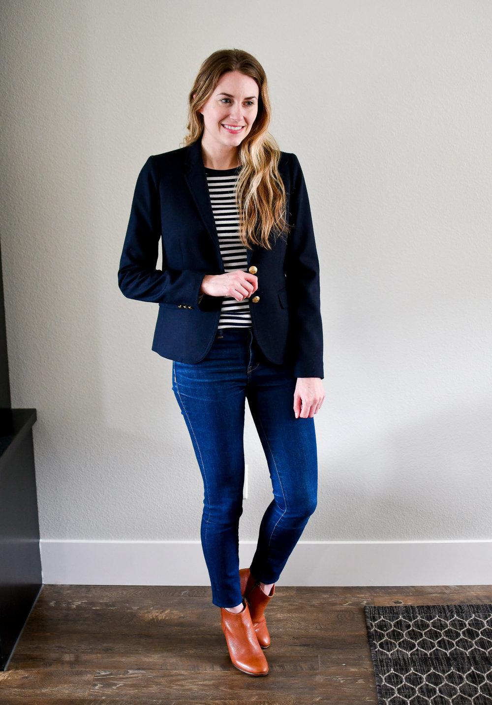 April Style Sudoku: Outfit 9 — Cotton Cashmere Cat Hair