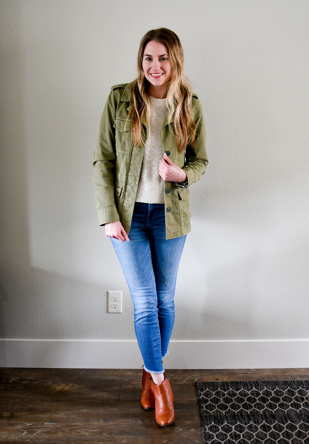 April Style Sudoku: Outfit 10 — Cotton Cashmere Cat Hair