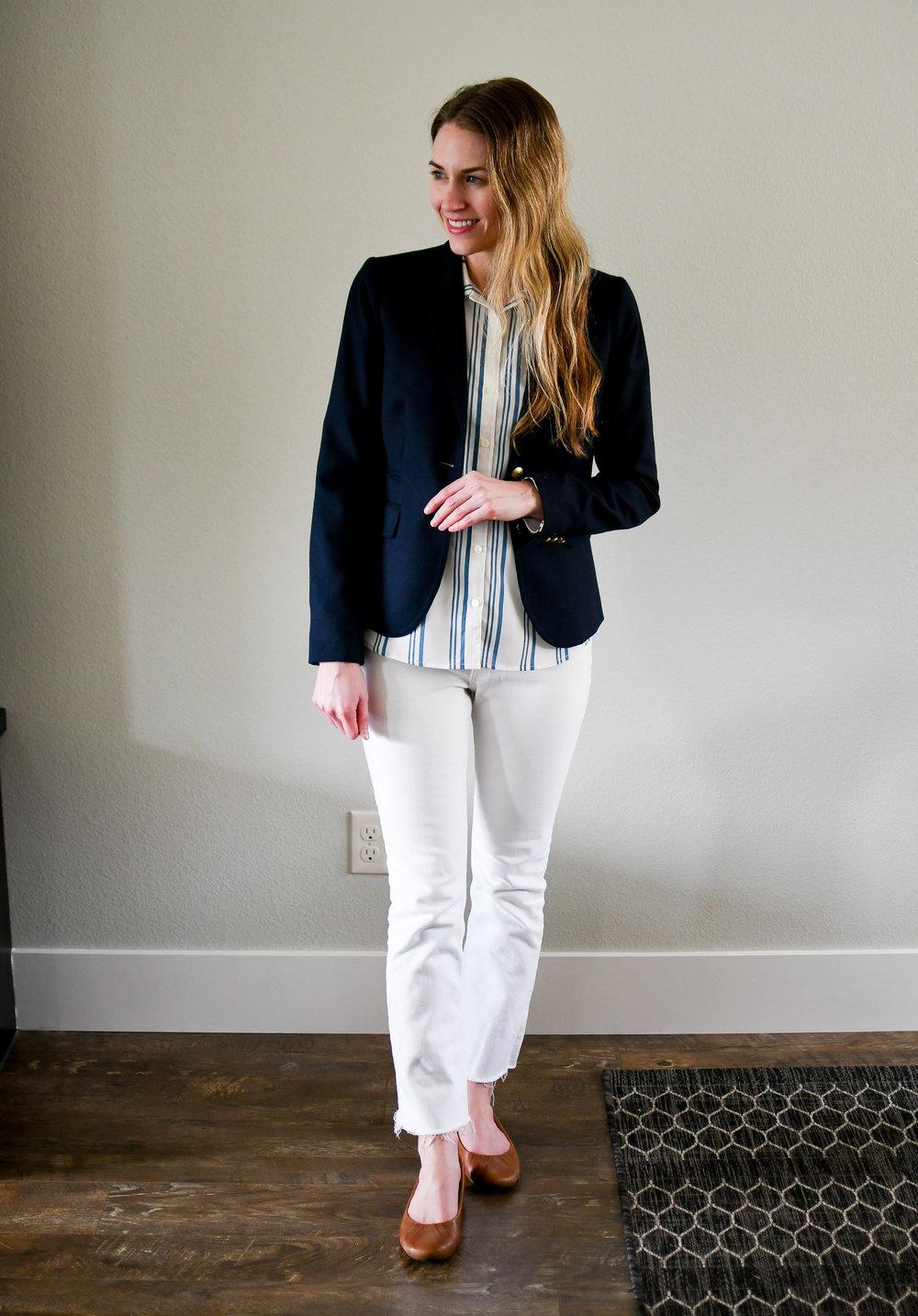 April Style Sudoku: Outfit 12 — Cotton Cashmere Cat Hair