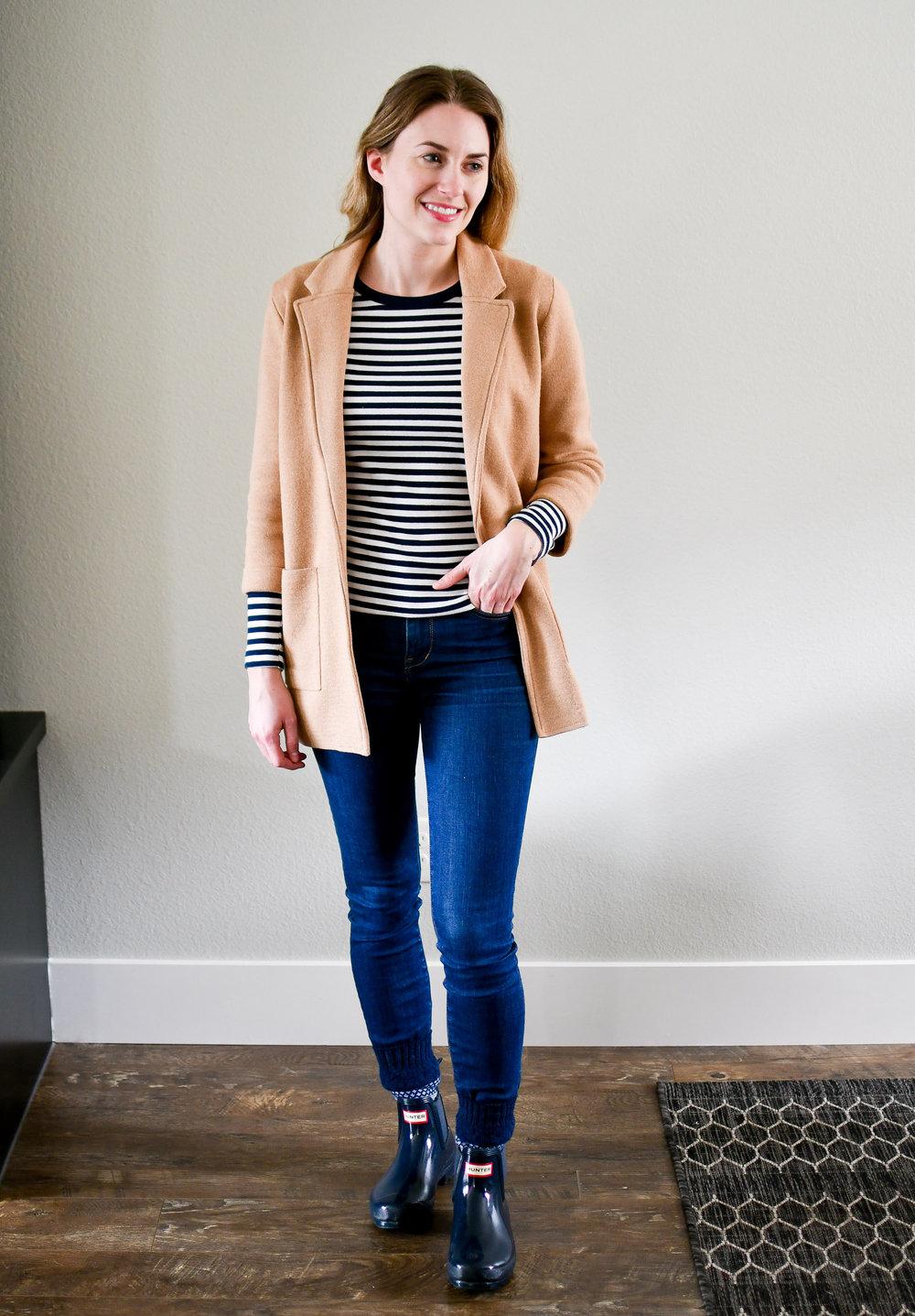 April Style Sudoku: Outfit 14 — Cotton Cashmere Cat Hair