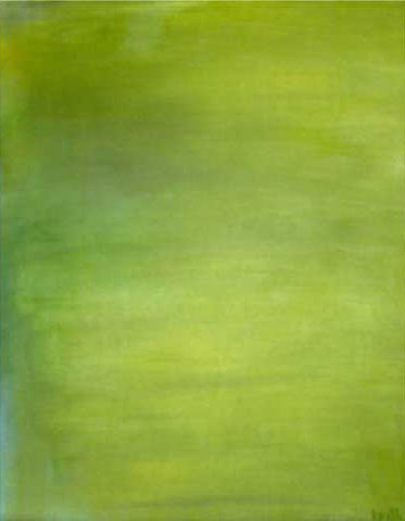 'hue green' 24 x 30″, oil on canvas   SOLD
