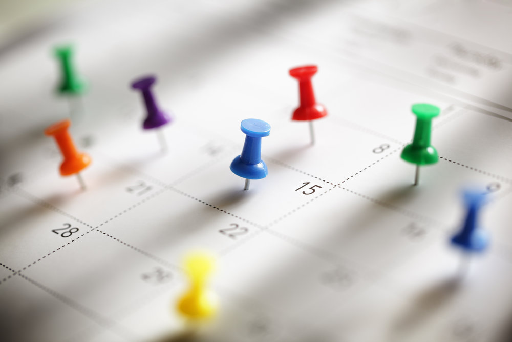 PSMG Schedule -