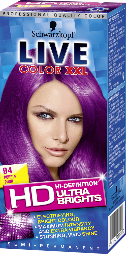 Beauty Schwarzkopf Live Colour Xxl Purple Justjadeblog