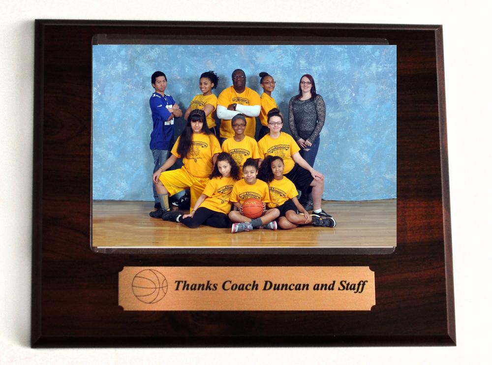 Coach Plaque