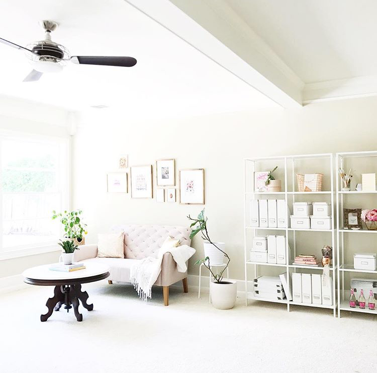 Cutest office space ever! Image via  instagram