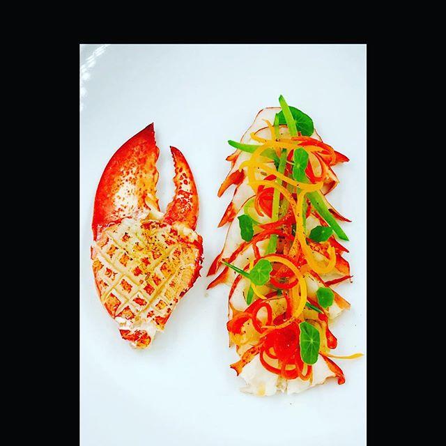 Thai Curry Lobster Salad Salsa Verde #repost #mainelobster #lobsterreeflp #chefs #chefsofinstagram #chefslife #foodphotography #foodart #foodporn #theartofplating #edibleart #thaifood #gourmetartistry #lobstersalad #chefstalk #foodartchefs #cookniche #chefsoninstagram #simplistic_food #fdlmoment