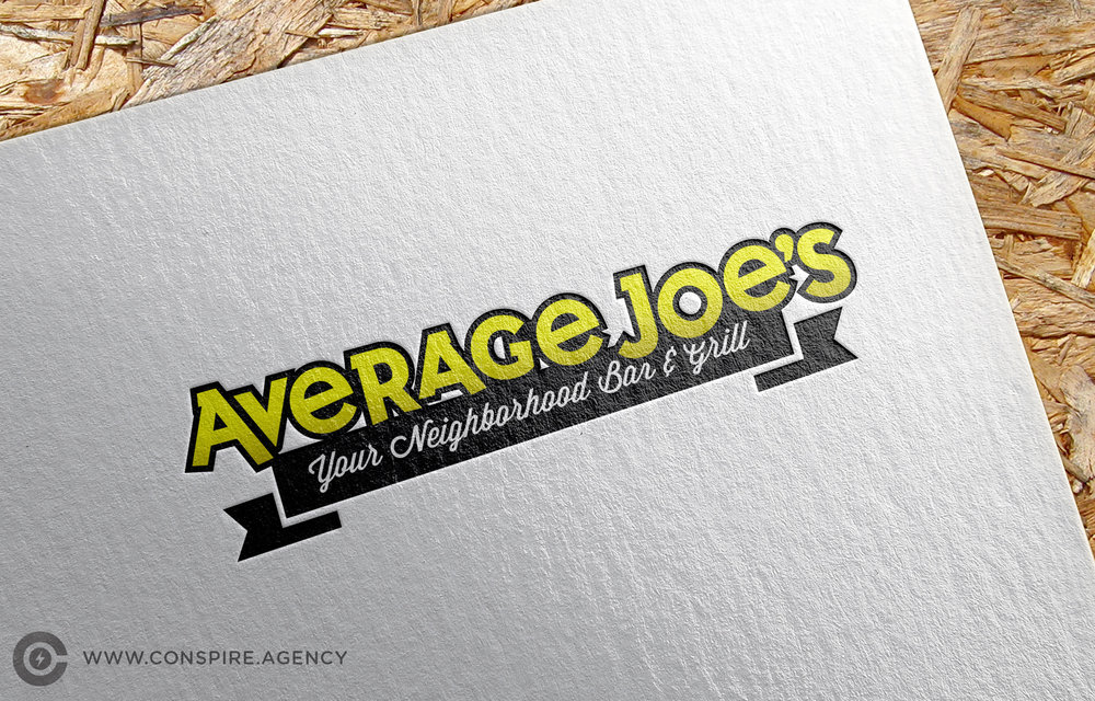 Restaurant-Average-Joes-Branding-Logo-Design