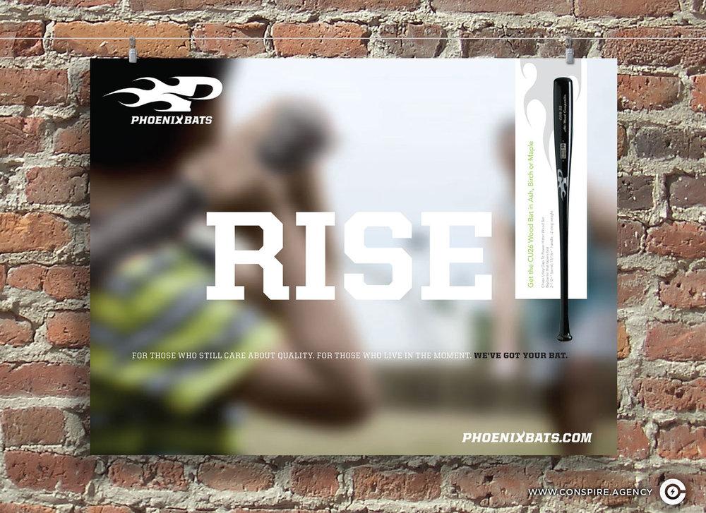 Phoenix-Bats-Branding-Poster-Design