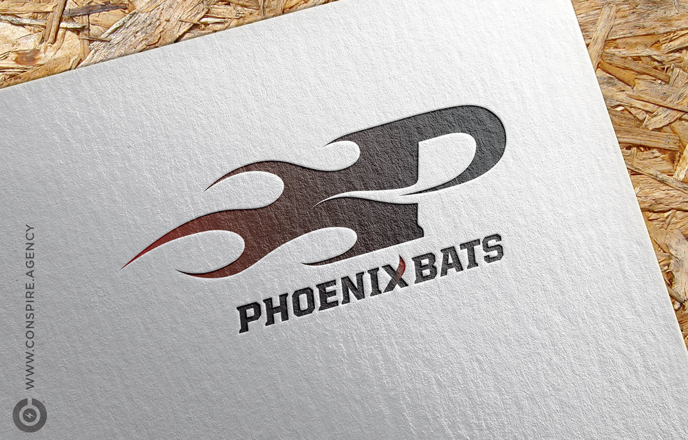 Phoenix-Bats-Branding-Marketing-Logo-Design