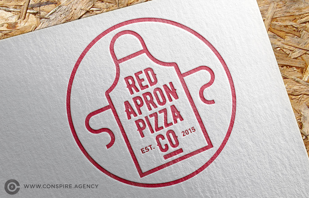 Restaurant-Red-Apron-Branding-Logo-Design