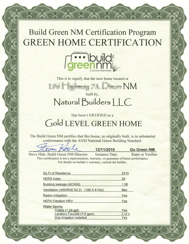 BGNM Gold Certification