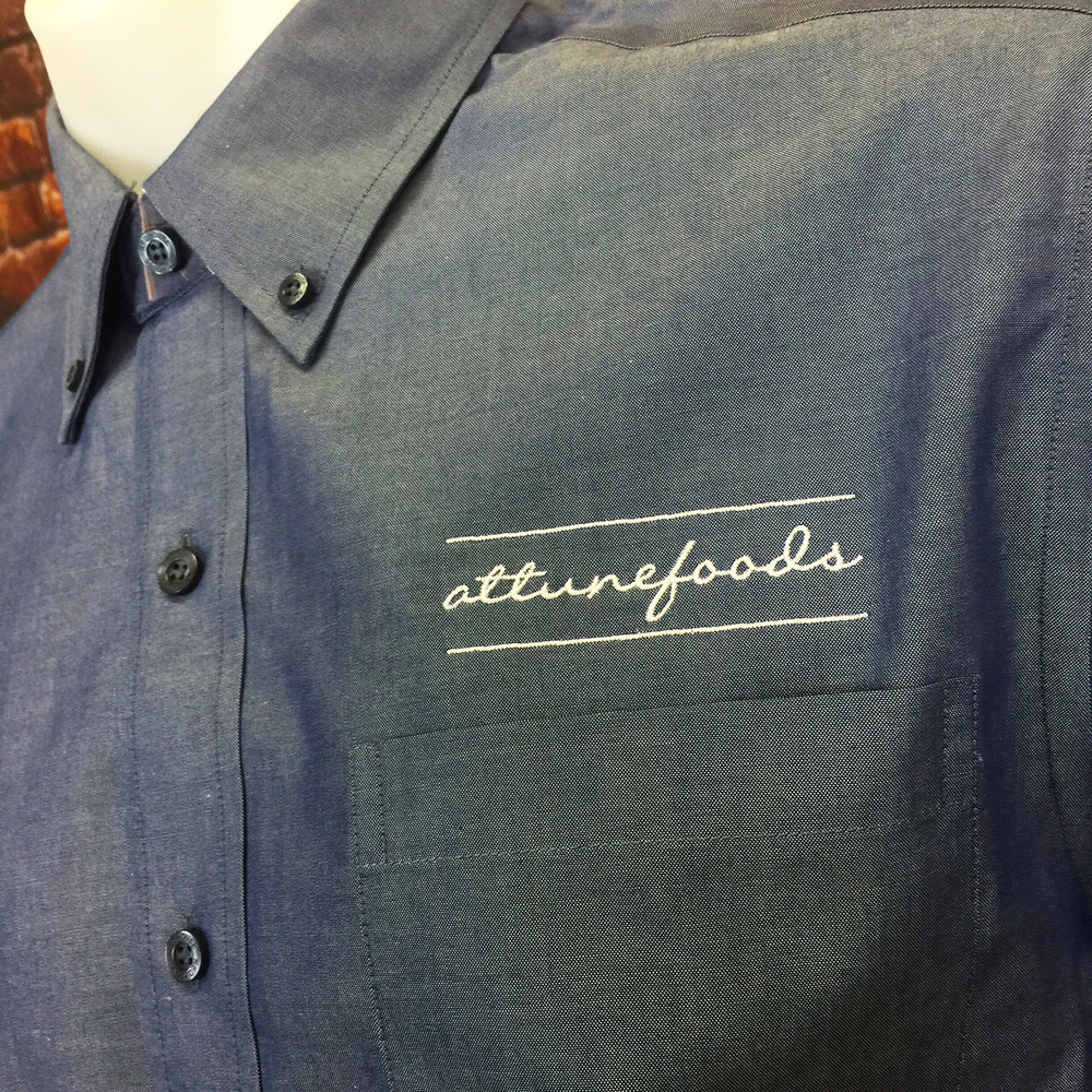 Attune Foods Embroidery