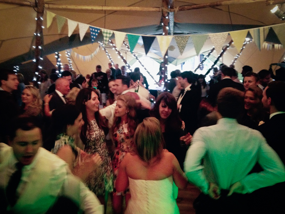 Full dance floor all night! Wedding band, Kent