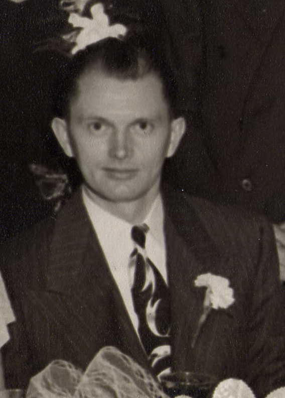 My grandfather on his wedding day in 1946.